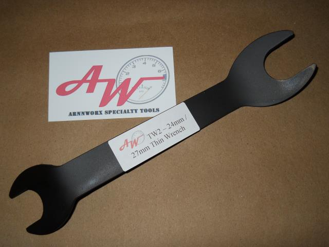 24/27 mm Combination Thin Wrench
